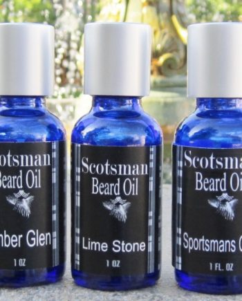 ORDER TIMBER GLEN,  2 ounces - SCOTSMAN  BEARD OIL